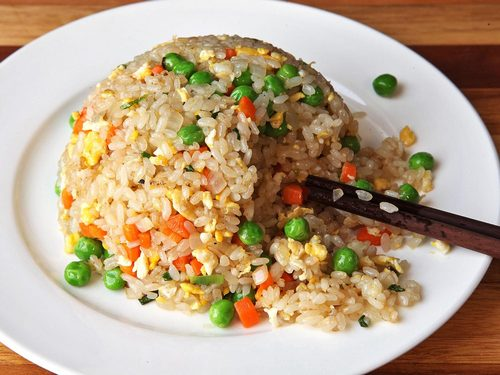 Chinese Inspired Vegetable Fried Rice